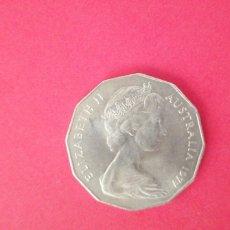 Monedas antiguas de Oceanía: 50 CENTS DE AUSTRALIA 1977. JUBILEO DE PLATA. Lote 218988870