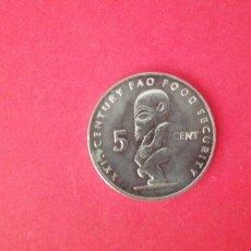 Monedas antiguas de Oceanía: 5 CENTS ISLAS COOK 2000. Lote 218992292