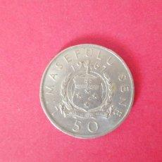 Monedas antiguas de Oceanía: 50 SENE DE SAMOA 1967. Lote 221438805