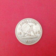 Monedas antiguas de Oceanía: 1 CHELIN DE FIJI 1934. Lote 221445180