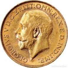Monedas antiguas de Oceanía: MONEDA, AUSTRALIA, GEORGE V, SOVEREIGN, 1917, PERTH, EBC, ORO, KM:29. Lote 221906518