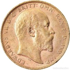 Monedas antiguas de Oceanía: MONEDA, AUSTRALIA, EDWARD VII, SOVEREIGN, 1904, PERTH, EBC, ORO, KM:15. Lote 221912758