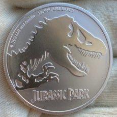 Monedas antiguas de Oceanía: 1 ONZA -2 DÓLARES 2020 NIUE JURASIS PARK. Lote 221992477