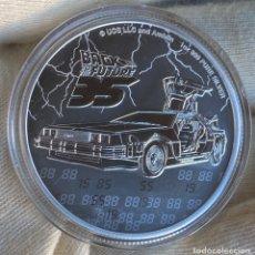Monedas antiguas de Oceanía: 1 ONZA -2 DÓLARES 2020 NIUE REGRESO AL FUTURO. Lote 221992597