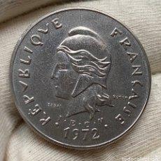 Monete antiche di Oceania: 50 FRANCOS 1972 NUEVAS HÉBRIDAS ESSAI MUY ESCASA. Lote 222378081