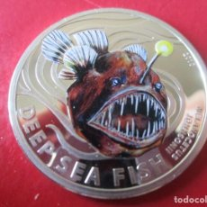 Monedas antiguas de Oceanía: ISLAS PITCAIRN. MONEDA DE 2 DOLARES DE PLATA ESMALTADA. 2010. Lote 262954600