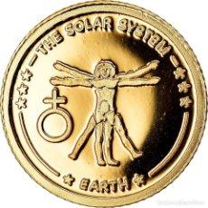 Monedas antiguas de Oceanía: MONEDA, FIJI, ELIZABETH II, 10 DOLLARS, 2010, BE, FDC, ORO, KM:219. Lote 222724815