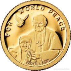 Monedas antiguas de Oceanía: MONEDA, ISLAS SALOMÓN, ELIZABETH II, 5 DOLLARS, 2010, CIT, BE, FDC, ORO, KM:119. Lote 222725231