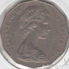 Monedas antiguas de Oceanía: AUSTRALIA MONEDA 50 CENTS (CENTAVOS) 1974 MODULO GRANDE 12 LADOS ---EBC+---. Lote 223400640