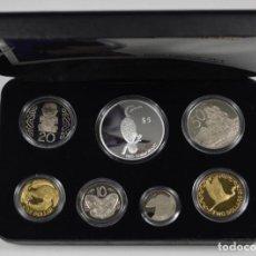 Monedas antiguas de Oceanía: NUEVA ZELANDA - 2000 PROOF SET PIED CORMORANT. Lote 229625595