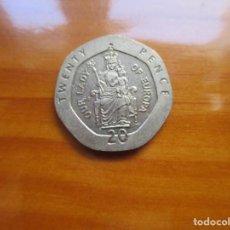 Monnaies anciennes d'Océanie: GIBRALTAR - 20 PENCE 1988. Lote 231011665