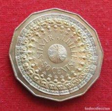Monnaies anciennes d'Océanie: AUSTRALIA 50 CENTS 1977 SILVER JUBILEE. Lote 233328995