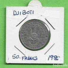 Monnaies anciennes d'Océanie: DJIBUTI. 50 FRANCS 1986. CUPRONÍQUEL. KM#25. Lote 233738135