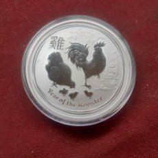 Monnaies anciennes d'Océanie: 2 DOLARES DE AUSTRALIA DEL 2017. ENCAPSULADA 2 ONZAS DE PLATA PURA.PROOF. Lote 233741540