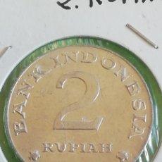 Monete antiche di Oceania: 2 RUPIAS DE 1970 DE INDONESIA. MONEDAS DEL MUNDO.. Lote 234439755