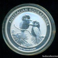 Monete antiche di Oceania: AUSTRALIA - KOOKABURRA 2013 - 1 DOLAR / 1 ONZA PLATA PURA / 999 MILESIMAS -SIN CIRCULAR. CON CAPSULA. Lote 234529935