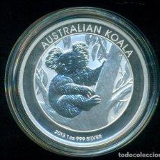 Monedas antiguas de Oceanía: AUSTRALIA - KOALA 2013 - 1 DOLAR / 1 ONZA PLATA PURA / 999 MILESIMAS -SIN CIRCULAR. CON CAPSULA. Lote 234530315