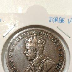 Monedas antiguas de Oceanía: MONESA AUSTRALIA. 1 PENIQUE 1924. JORGE V. KM#23. Lote 234759635