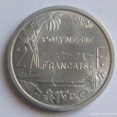 Monete antiche di Oceania: POLINESIA FRANCESA 2 FRANCOS 1965. Lote 234840695