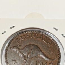 Monedas antiguas de Oceanía: MONEDA DE AUSTRALIA. PENIQUE 1942. REY JORGE VI. Lote 235896215