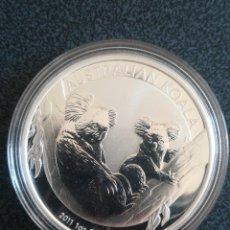 Monedas antiguas de Oceanía: MONEDA 1 DOLLAR 2011 AUSTRALIA KOALA PLATA 999 31 GR.. Lote 235935310