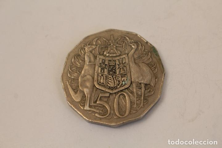 Monedas antiguas de Oceanía: AUSTRALIA - 50 cents 1971 KM# 68 Elizabeth II Decimal Coinage - Edelweiss Coins - Foto 2 - 268867554