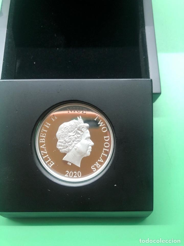 Monedas antiguas de Oceanía: Onza de plata Star Wars Estrella de la muerte edición limitada 5000 uds - Foto 5 - 237022315