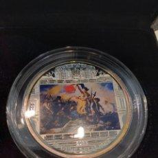 Monedas antiguas de Oceanía: OBRAS MAESTRAS DEL ARTE MONEDA PLATA PURA 3 COOK ISLANDS. Lote 238666545