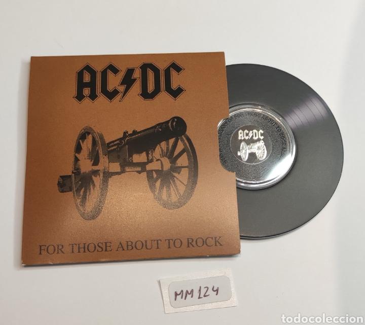 "Monedas antiguas de Oceanía: Moneda disco 20c ACDC.Australia.Conmemorativa 40° aniversario ""For those about to rock"" - Foto 4 - 239909615"