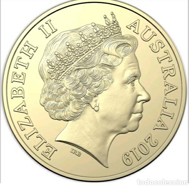 Monedas antiguas de Oceanía: 1 dólar Boomerang.Australia de la A a la Z.Blister presentación.Dorada. - Foto 2 - 240000410