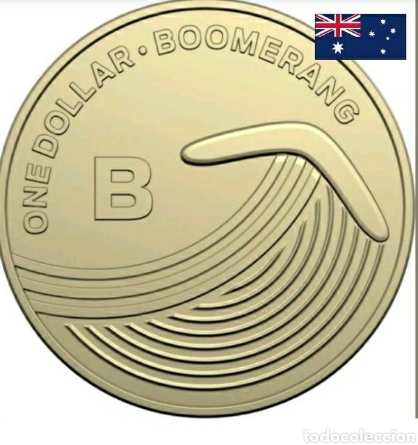 1 DÓLAR BOOMERANG.AUSTRALIA DE LA A A LA Z.BLISTER PRESENTACIÓN.DORADA. (Numismática - Extranjeras - Oceanía)