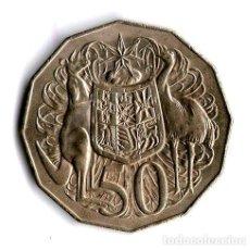 Monedas antiguas de Oceanía: AUSTRALIA MONEDA DE 50 CENTS 1976 ARGENTVS. Lote 244378855
