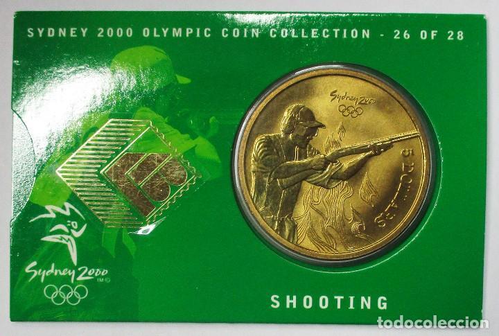 AUSTRALIA 2000, 5 DOLLARS DE LAS OLIMPIADAS DE SIDNEY. SHOOTING. LOTE 3697 (Numismática - Extranjeras - Oceanía)