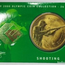 Monedas antiguas de Oceanía: AUSTRALIA 2000, 5 DOLLARS DE LAS OLIMPIADAS DE SIDNEY. SHOOTING. LOTE 3697. Lote 244546355