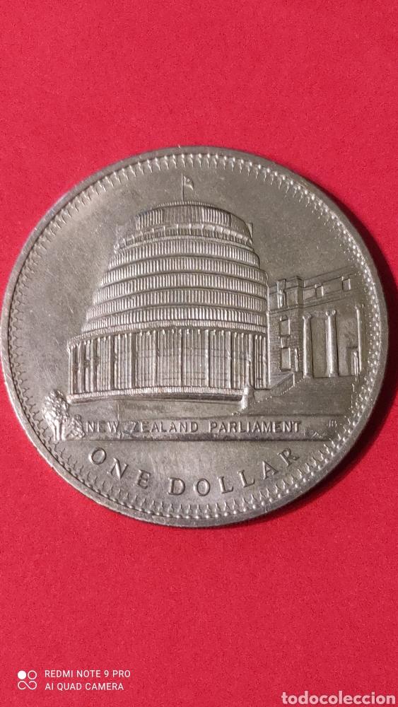 MONEDA NUEVA ZELANDA 1 DOLAR 1978. (Numismática - Extranjeras - Oceanía)