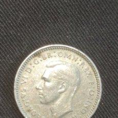 Monedas antiguas de Oceanía: 3 PENIQUES 1938 AUSTRALIA. Lote 244712680