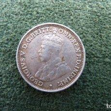 Monedas antiguas de Oceanía: 3 PENCE DE AUSTRALIA DE JORGE V DE 1926. PLATA. MBC+. Lote 244923900