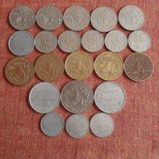 Monedas antiguas de Oceanía: (POLINESIA FRANCESA) LOTE DE MONEDAS. Lote 245171945