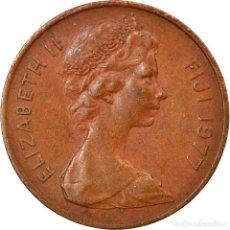 Monedas antiguas de Oceanía: MONEDA, FIJI, ELIZABETH II, CENT, 1977, MBC, BRONCE, KM:39. Lote 245609225