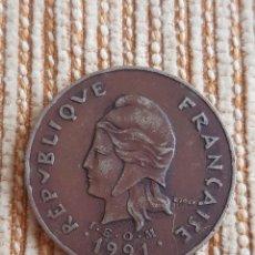 Monedas antiguas de Oceanía: (NUEVA CALEDONIA)(1991) 100 FRANCOS. Lote 246887100