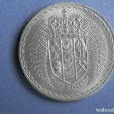 Monedas antiguas de Oceanía: NUEVA ZELANDA MONEDA 1 DOLAR AÑO 1967. CONSERVACIÓN: SC- NO HA CIRCULADO. Lote 248313115