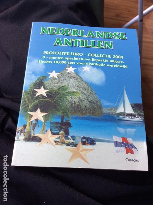 NEERLANDÉS ANTILLEN 8 MONEDAS PRE EUROS 2004 (Numismática - Extranjeras - Oceanía)