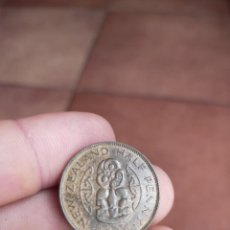 Monedas antiguas de Oceanía: MONEDA DE MEDIO 1/2 PENIQUE DE 1946 NUEVA ZELANDA PENNY HALF MUY BUEN ESTADO. Lote 252254540