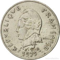 Monedas antiguas de Oceanía: MONEDA, POLINESIA FRANCESA, 50 FRANCS, 1975, PARIS, MBC+, NÍQUEL, KM:13. Lote 254113235