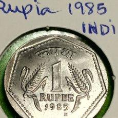 Monedas antiguas de Oceanía: UNA RUPHIA DE LA INDIA 1985.. Lote 254623730