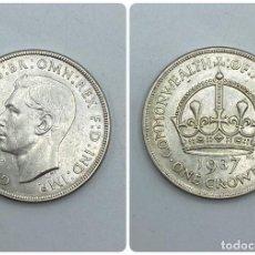 Monedas antiguas de Oceanía: MONEDA. AUSTRALIA. ONE CROWN. 1937. VER FOTOS. Lote 257803050