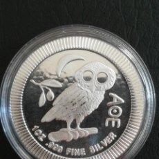 Monedas antiguas de Oceanía: MONEDA 2 DOLLARS NIUE 2021 PLATA 31 GR 1 OZ 999. Lote 259258745