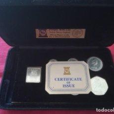 Monedas antiguas de Oceanía: SET MONEDAS DE PLATA ISLE OF MAN 1979 PLATA. Lote 259259155