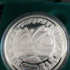 Monedas antiguas de Oceanía: MONEDA 5 DOLLARS 2000 AUSTRALIA SIDNEY OLÍMPICOS PLATA 999. Lote 259259965