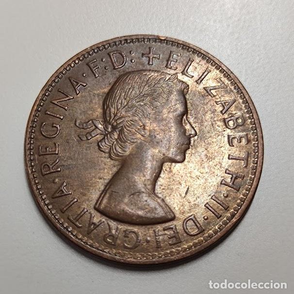 Monedas antiguas de Oceanía: 1 PENIQUE AUSTRALIA 1964 - Foto 2 - 260655905